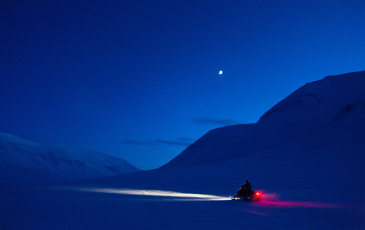 Svalbard in the blue period