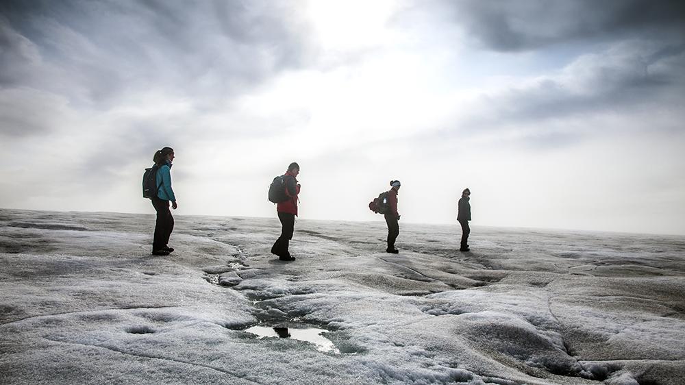Glacier walk in Svalbard ©-Marcel Schütz-2020