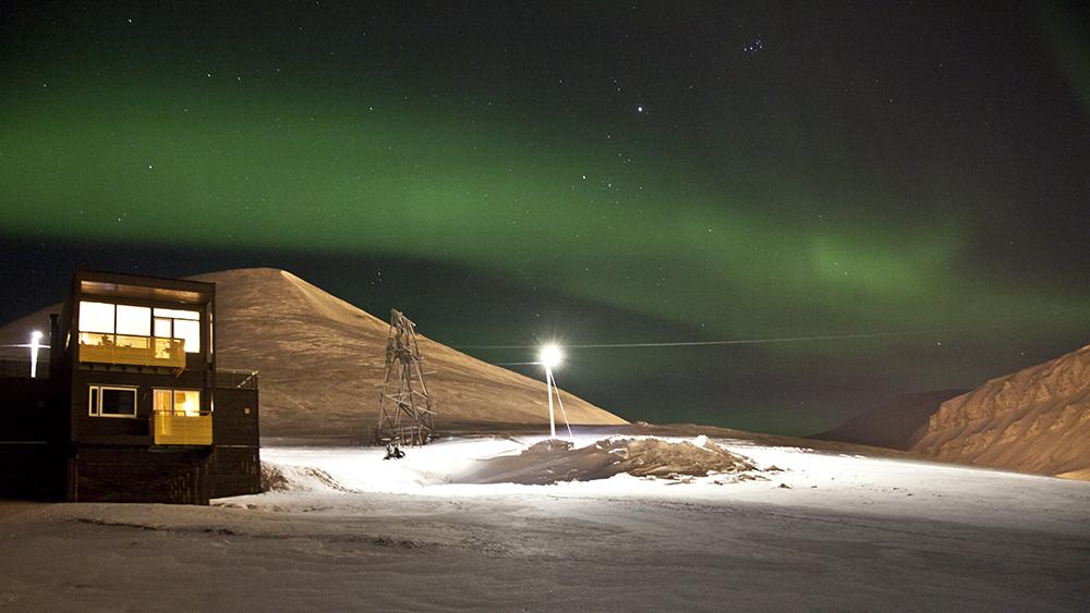 Northernlights in Longyearbyen ©-Marcel Schütz-2020