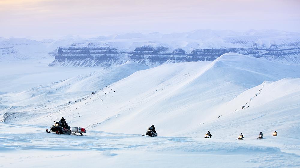 Snowscootersafari in Svalbard ©-Marcel Schütz-2020