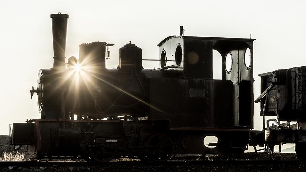 Train in Ny Ålesund ©-Marcel Schütz-2020