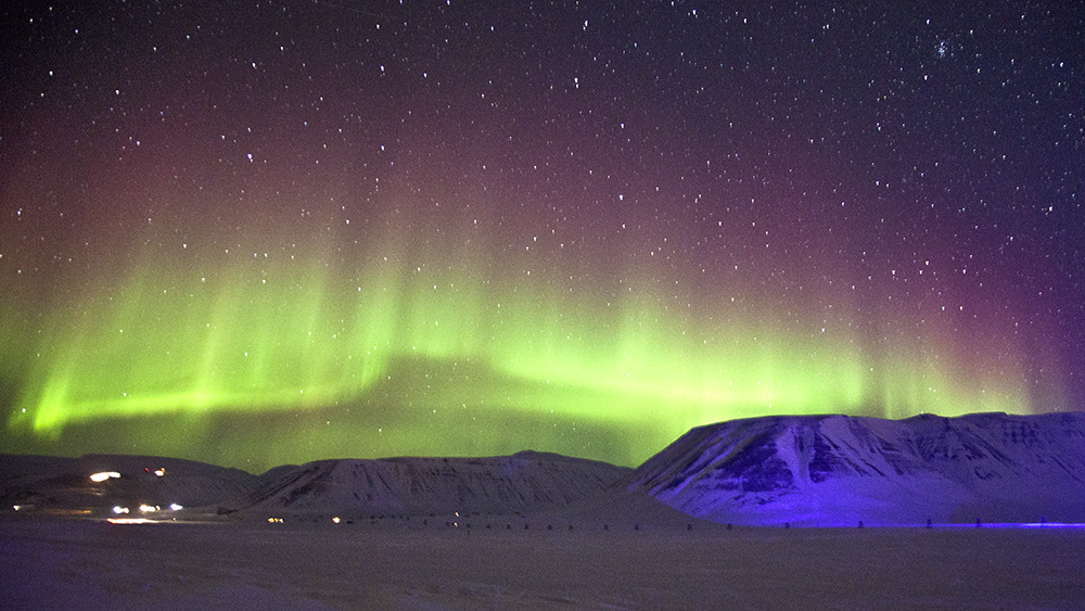Aurora Borealis Svalbard