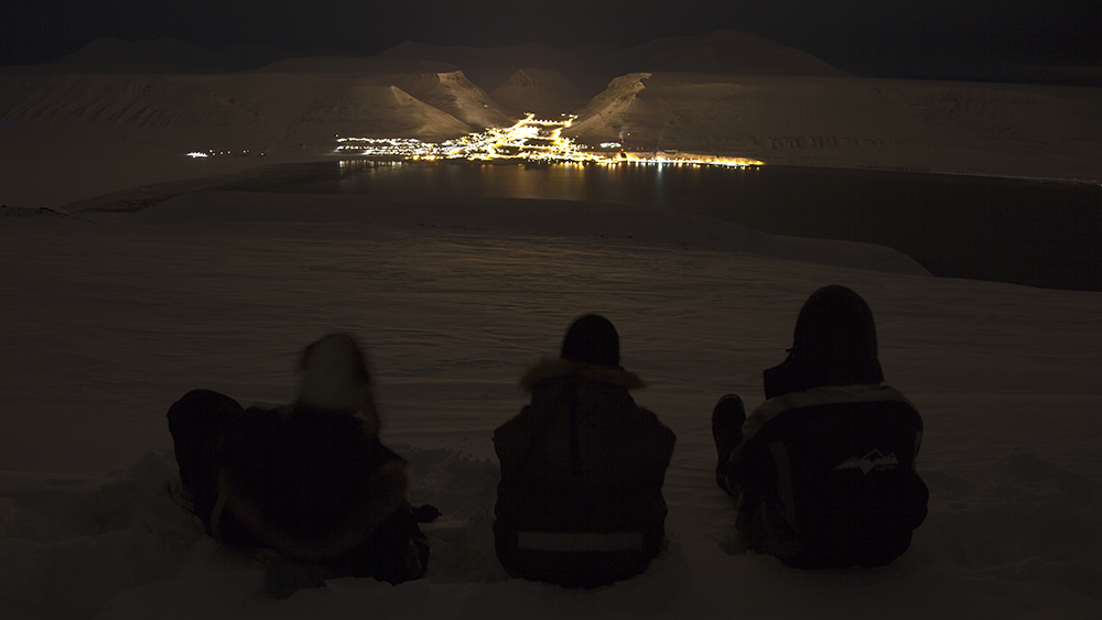 Hiorthfjellet vinter